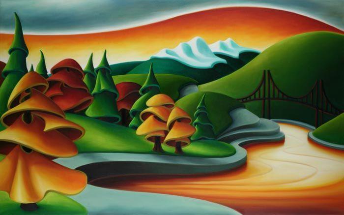 Autumn Stroll by Dana Irving