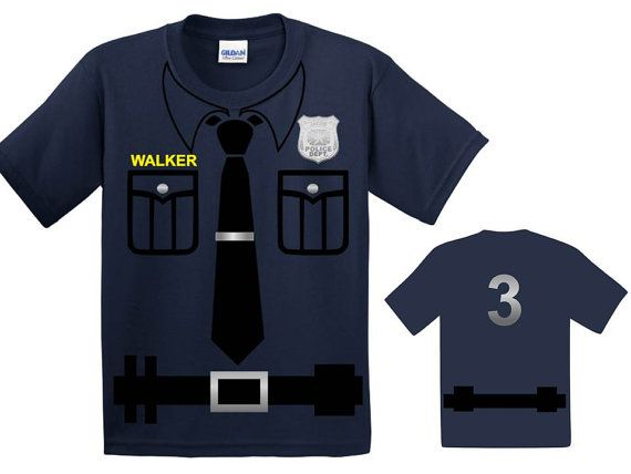 Police Birthday Police Birthday Shirt Police Birthday by CRAAUS