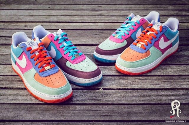 NIKE ID AIR FORCE 1 (WHAT THE AIR FORCE 1)