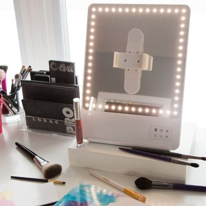 24 Best Lighted Makeup Mirror Designs 2020 With Images Makeup Mirror With Lights Light Makeup Makeup Mirror