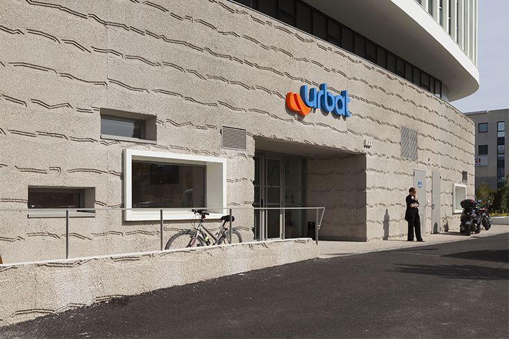 Oxygène - Urbat - Montpellier (34), Architecte : Nicoleau Marie Elisabeth, Entreprise : Gauthier, Photographe : Nicolas Borel Solutions WICONA utlisées: Portes WICSTYLE 50E Droits Réservés WICONA