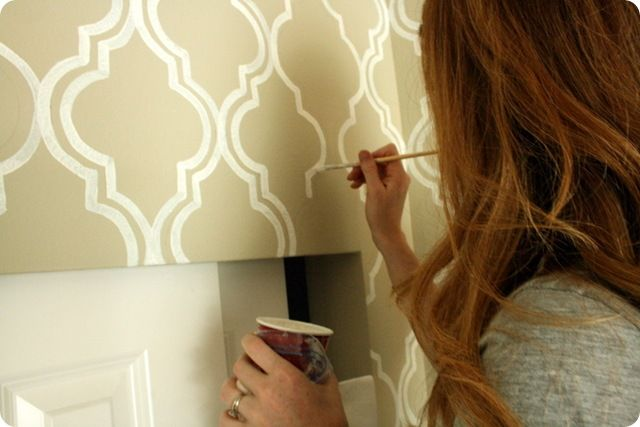 painted wallpaper {a tutorial}