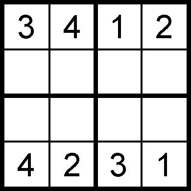 sudoku enfant facile - Lilo