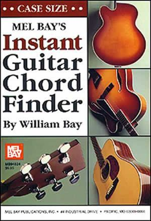 Instant Guitar Chord Finder (Case-Size Edition) (Book)