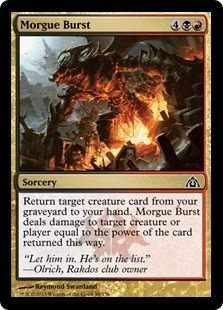 Morgue Burst by Raymond Swanland via PucaTrade - Card Search