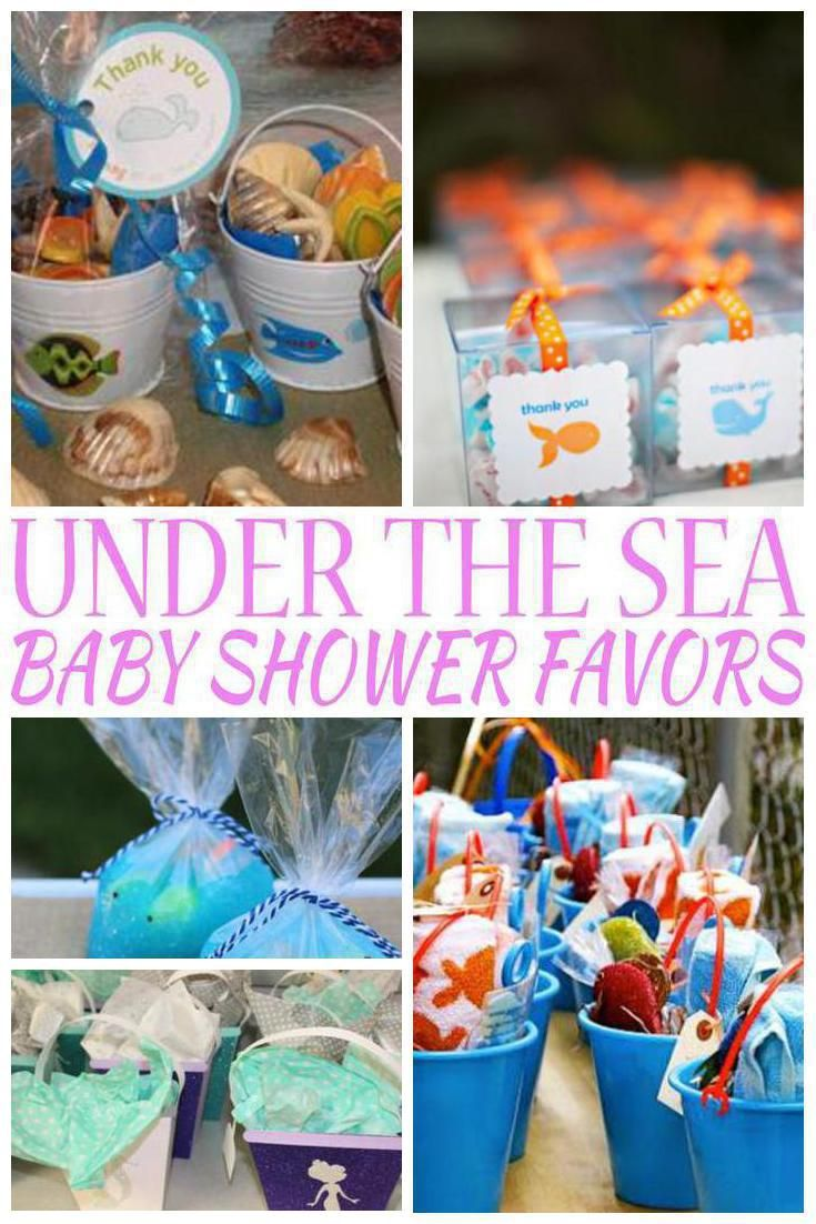 Under The Sea Baby Shower Favors Sea Baby Shower Baby Shower