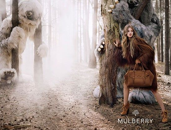 Photo of a Mulberry Ad Campaign