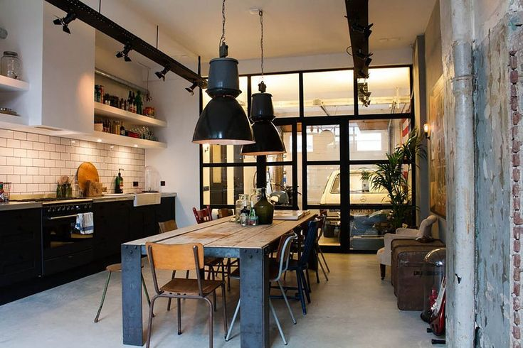 industrial design kitchen eclectic with converted garage eclectic liquor glasses