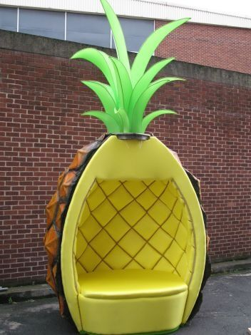 this is the greatest chair ever. I would totally figure out a place to put one in my house!