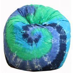 blue bean bag tie dye - Google Search