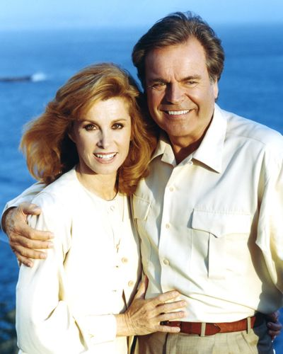 Stephanie Powers and Robert Wagner in Hart to Hart.