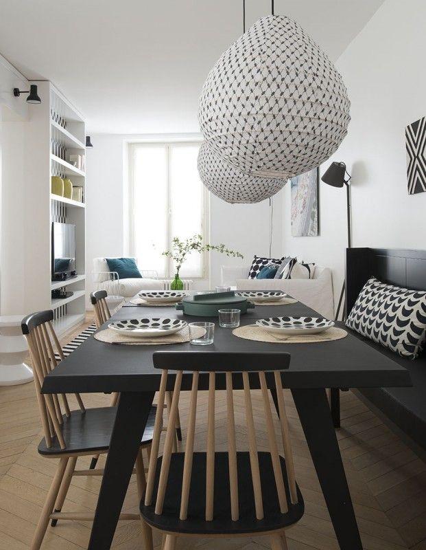 appartement paris 7 double g | petites surfaces | projets |Un projet incroyable. #design #projetdeluxe #décoration http://magasinsdeco.fr/delightfull-dans-projet-luxe/