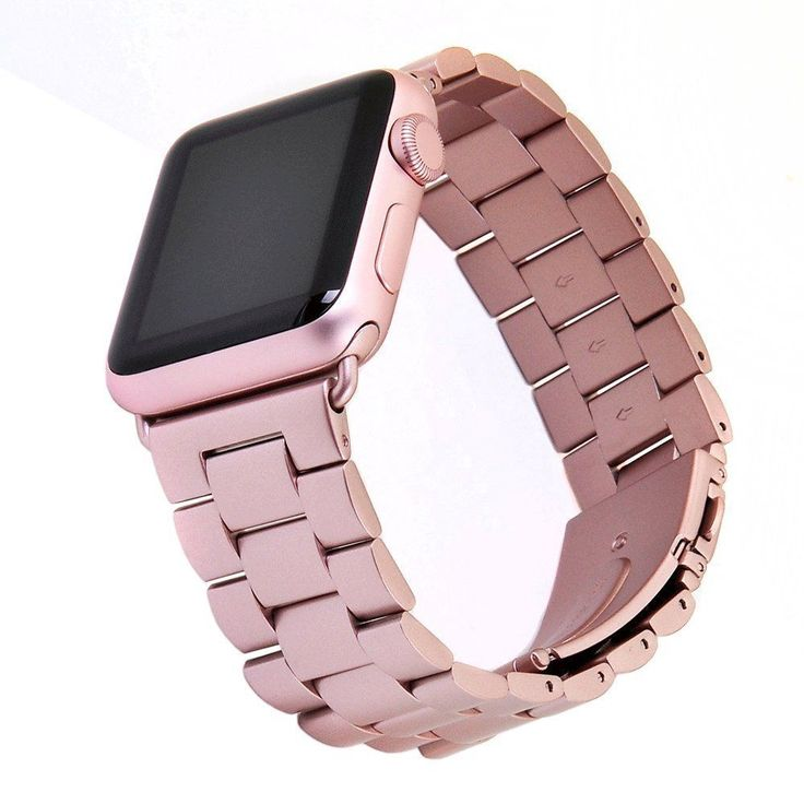 Apple Watch Band Series 1/2 Steel Replacement Metal Wristband 38mm Rose Gold New | Jewelry & Watches, Watches, Parts & Accessories, Wristwatch Bands | eBay!