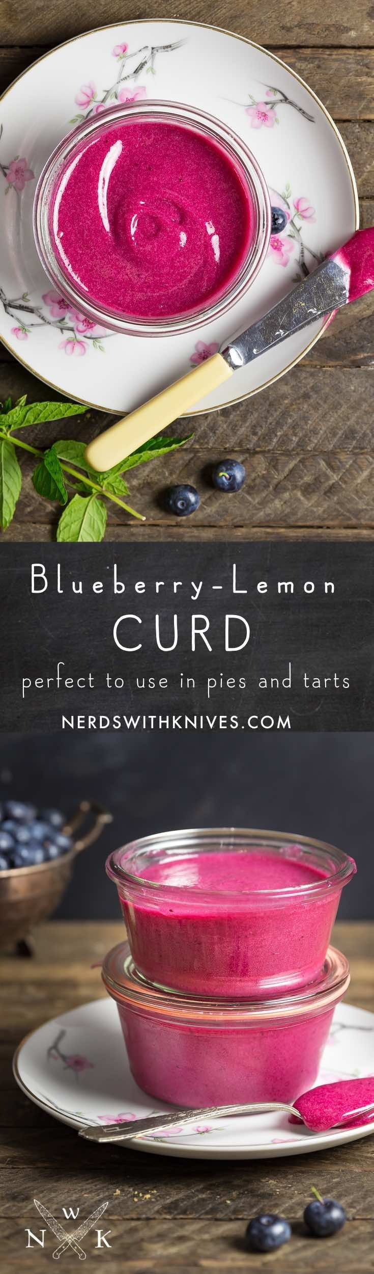 Blueberry lemon curd is a gorgeously colorful and delicious fruit curd that will dazzle your breakfast or dessert table.