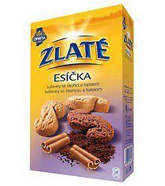 Opavia Zlaté esíčka sušenky 220g | Rozvoz potravin České Budějovice a okolí