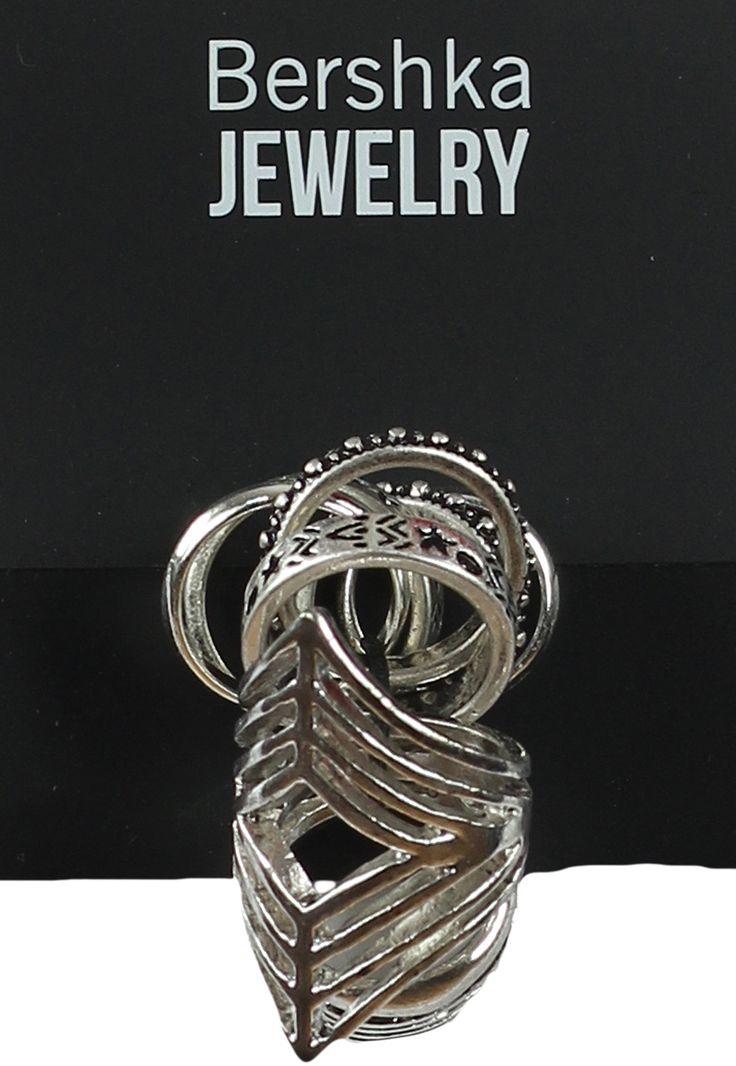 Inel Bershka Basic Silver | Kurtmann.ro