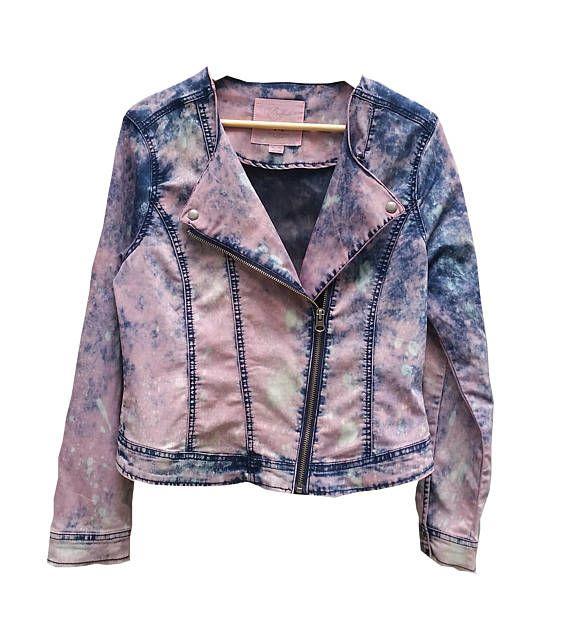 Vintage Dip Dye Acid Wash Women's Jean Jacket Size XL Girl's Pink Denim Buffalo By David Bitton Plus Size Buffalo Jeans Etsy shop https://www.etsy.com/ca/listing/532412652/vintage-dip-dye-acid-wash-womens-jean