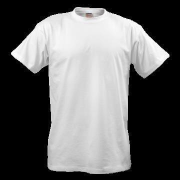 Обычная белая футболка