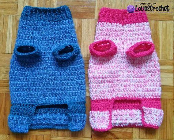 Mejores 203 imágenes de Crochet - For Dogs en Pinterest | Perritos ...