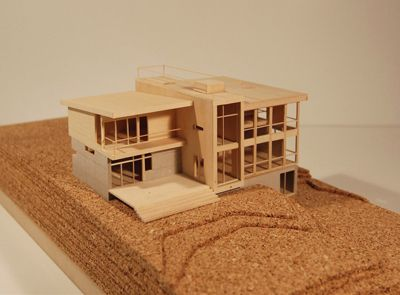 Architectural model making house