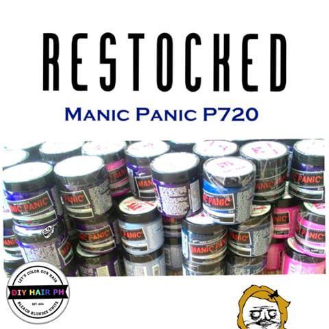 how to make manic panic work on dark hair