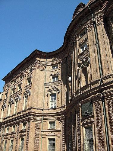 Palazzo Carignano, Torino - Guarino Guarini, Architect