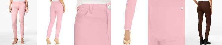 Celebrity Pink Juniors' Jayden Colored Wash Skinny Jeans  http://Fave.co/2kwsIIV