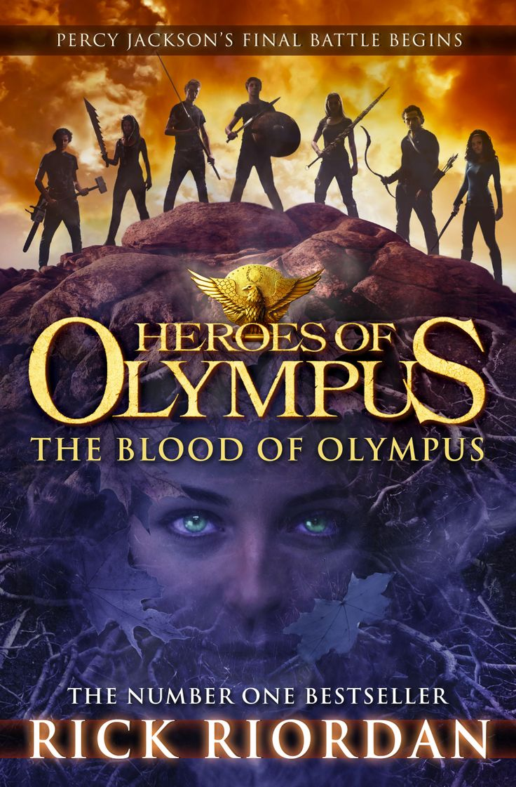 Eagerly Anticipated Book 5 In The Heroes Of Olympus Series, Ready For  Preordering