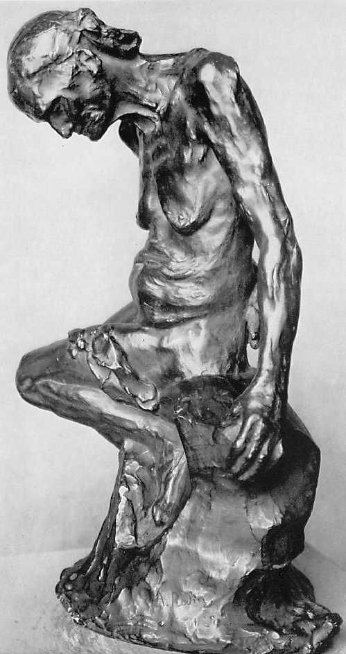 Auguste Rodin (1840-1917)  Celle qui fut la belle   She Who Was the Helmet Maker's Once-Beautiful Wife    1887