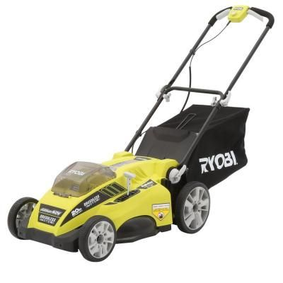 Ryobi 20 in. 40-Volt Lithium-ion Brushless Cordless Walk-Behind Electric Lawn Mower - Battery and Charger Not Included $279.00 #Reviews