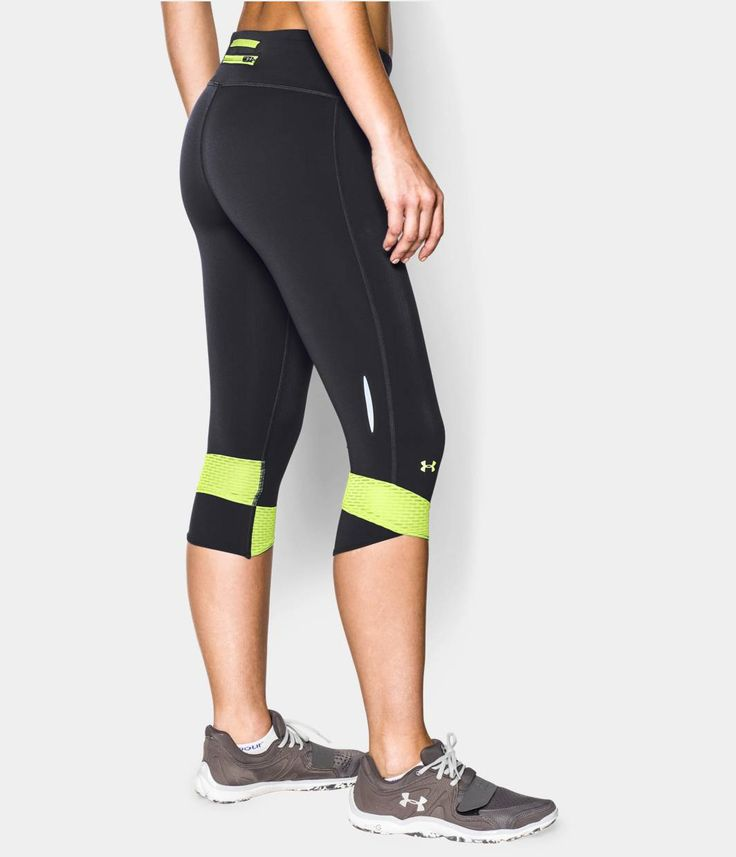 Women's UA Fly-By Compression Capri   Under Armour US Under Armour US Workout Clothes for Women   #fitness #model. #exercise #tips. #health #fitness #diet #fit #slim #abs #workout #weight   SHOP @ FitnessApparelExpress.com