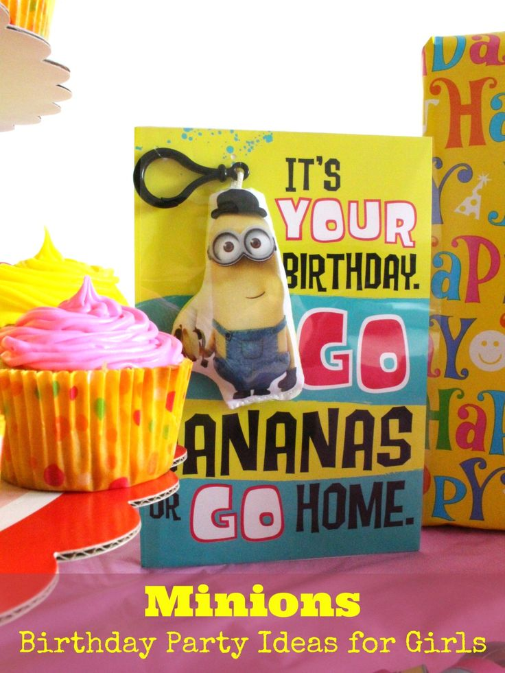 36 best Minions Birthday Party Ideas images on Pinterest ...