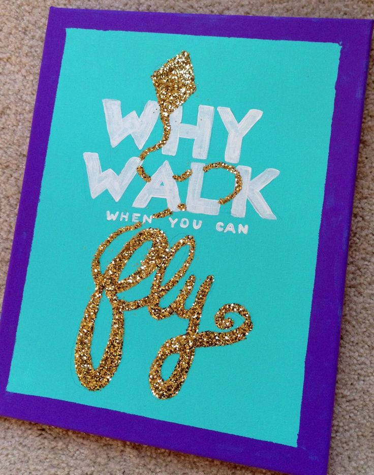 For my theta girls, why walk when you can fly?