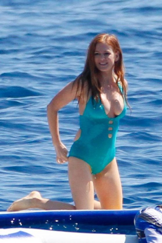 Isla Fisher Swimsuit