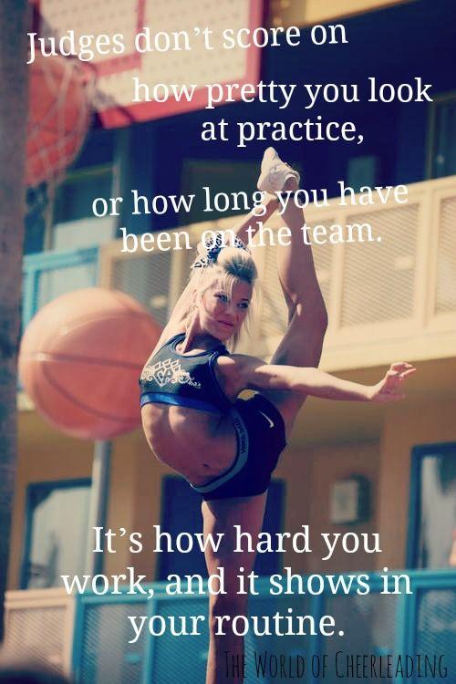 ''Popular'' isn't what makes a good cheerleader, a FIGHTER makes a good cheerleader.