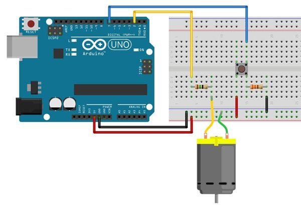 Tutorial Multilógica-Shop Arduino Motor CC
