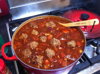 The Albino Mexican strikes again!!!---Mexican Meatball Soup | Paleo for Foodies