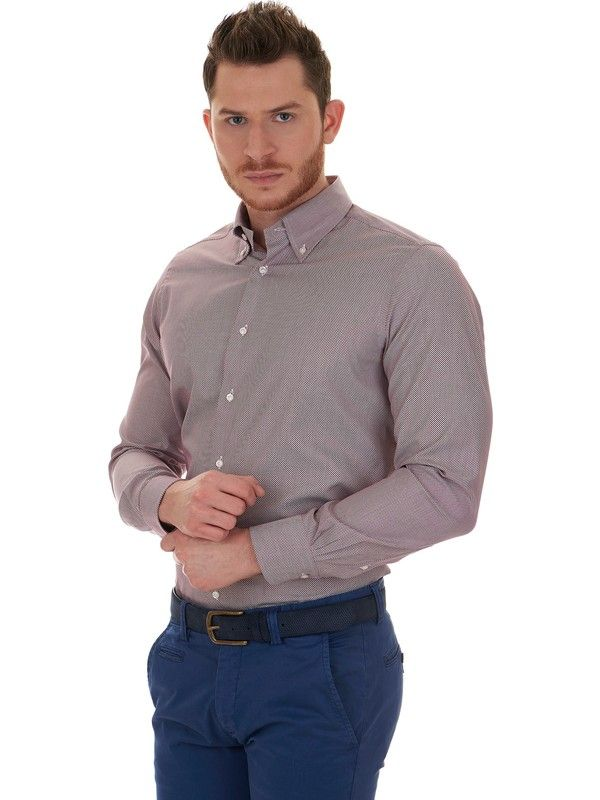 Càrrel shirt Modern fit popeline