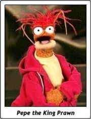 Pepe the King Prawn / Los Teleñecos / The Muppets