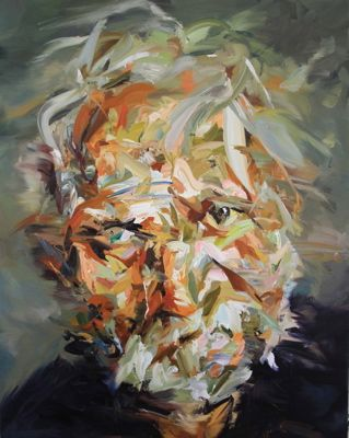 ARCHIVES  Paul Wright - Paul Wright  A Man of the Hesperus  2010    100 x 80cm