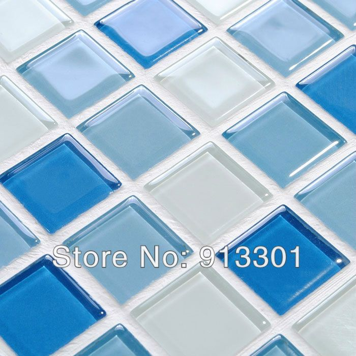 crystal glass mosaic wall tile backsplash kitchen blue white mixed mediterranean toilet floor tiles wholesale glass tile sheets-in Mosaics from Home Improvement on Aliexpress.com | Alibaba Group