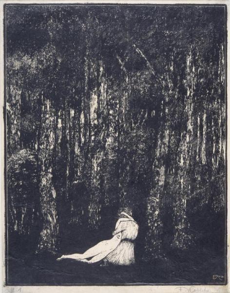Tristan, 1910, František Kobliha. Czech (1877 - 1962)
