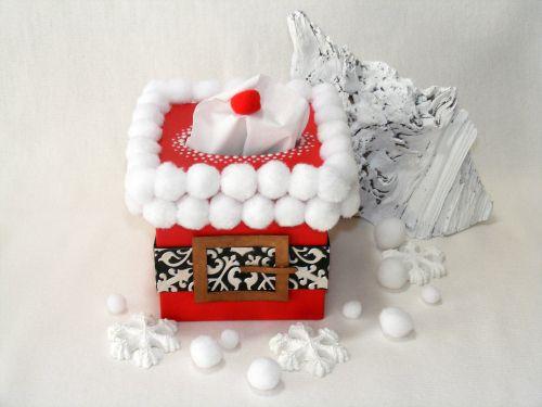 #diy #box #santaclaus #christmas #pentart
