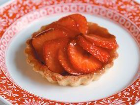 Gregg Wallace's strawberry tartlets