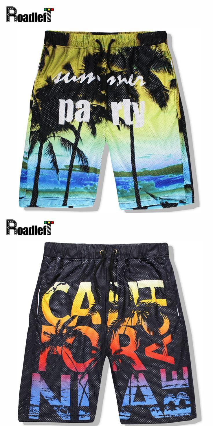 Summer Mens Brand Casual Shorts Men Breathable Loose Workout Shorts Men Holiday Party Bermuda  Beach Shorts