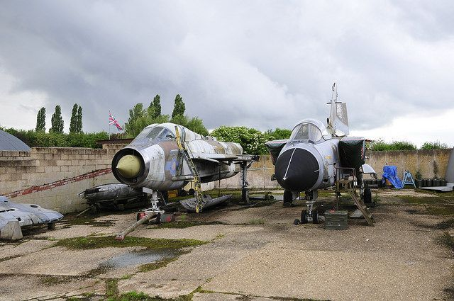 English Electric Lightning T5, XS416 at New York, Lincolnshire