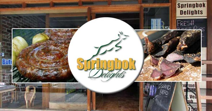 Springbok Delights was founded in 2000 by Reon and Lyndie Wilsenach who'd been living in the country for three years at the time. It didn't take long after immigration to realise that there was a hunger for a taste of home among South African expats. They opened a butchery at first but soon expanded to stock most South African favourites. Word soon spread about the fantastic saffa products available at Springbok Delights – and the shop became a sensation amongst expats and ozzies alike.