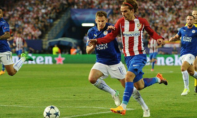 Penalty against Leicester for Griezmann was WRONG decision