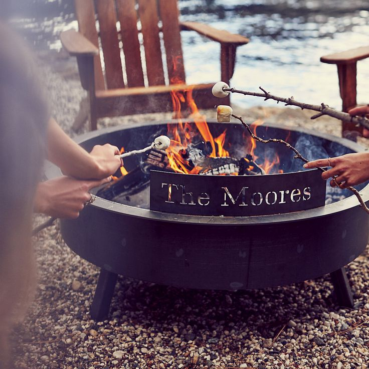 What better way to enjoy a cup of hot cider or mulled wine with friends and family, than around a fire in the great outdoors? Virtually indestructible