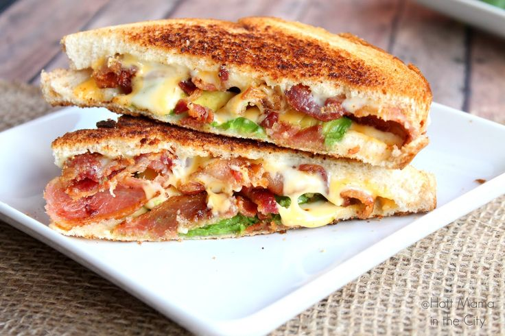 Bacon Avocado Grill Cheese! Totally trying this for a quick dinner with salad on the side.